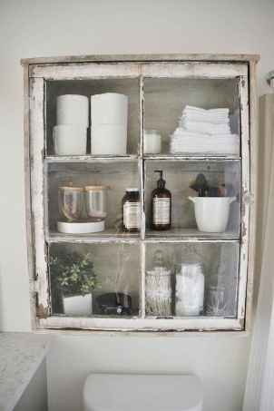 110 Best Farmhouse Bathroom Decor Ideas 43