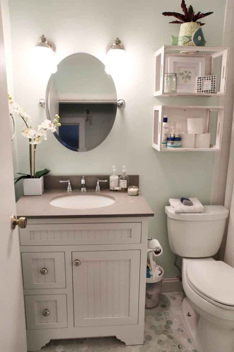 111 awesome small bathroom remodel ideas on a budget (43)