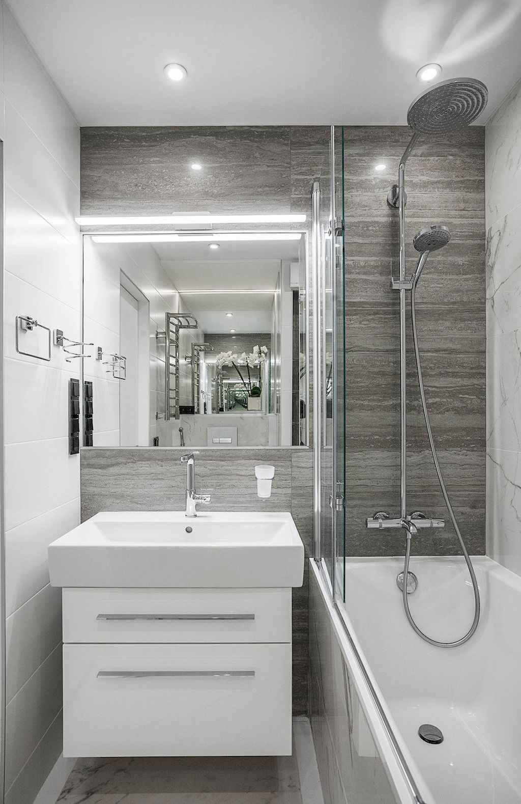 111 awesome small bathroom remodel ideas on a budget (86)