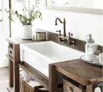 125 awesome farmhouse bathroom vanity remodel ideas (122)