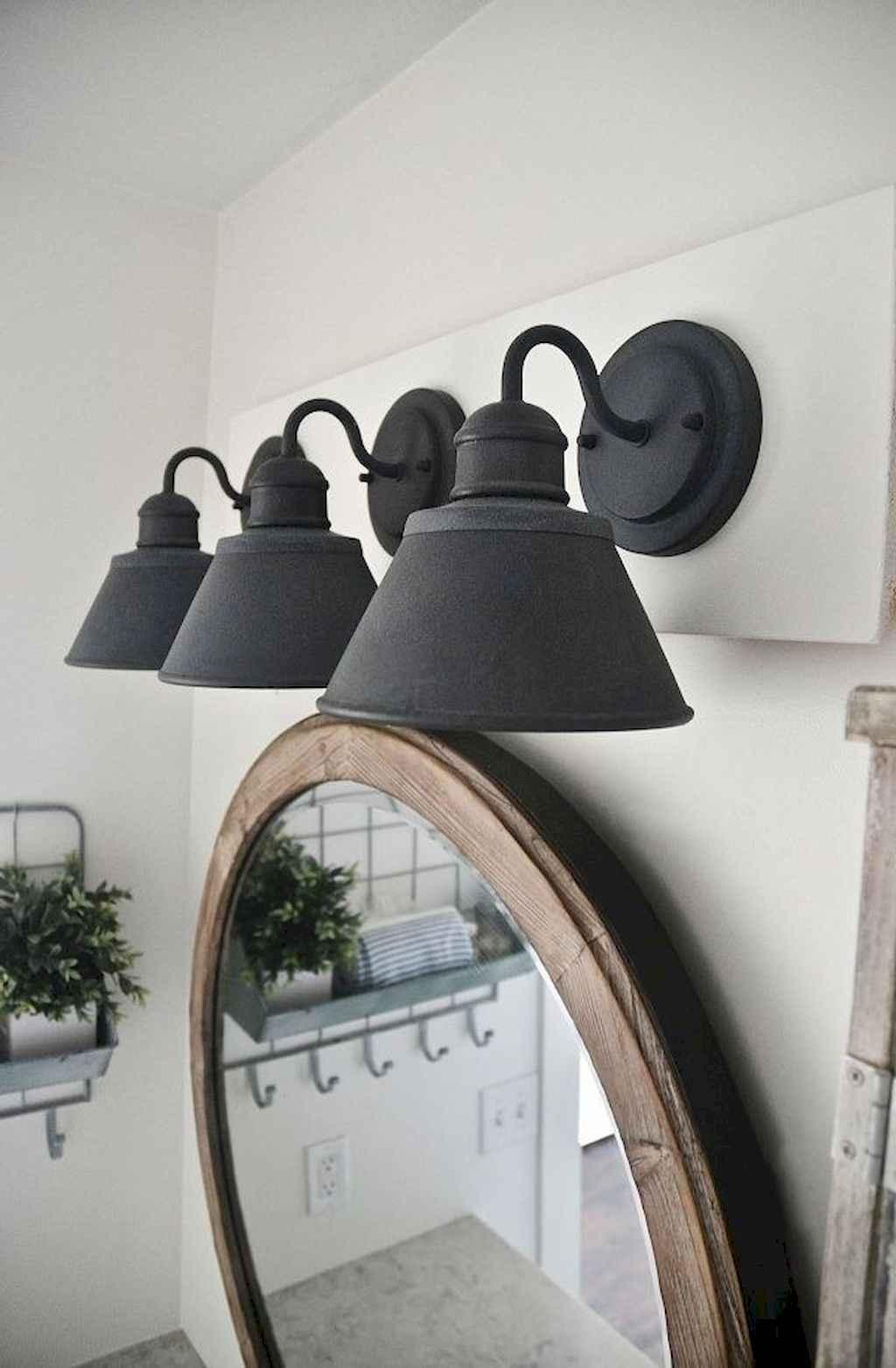 125 awesome farmhouse bathroom vanity remodel ideas (7)