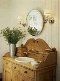 125 awesome farmhouse bathroom vanity remodel ideas (84)