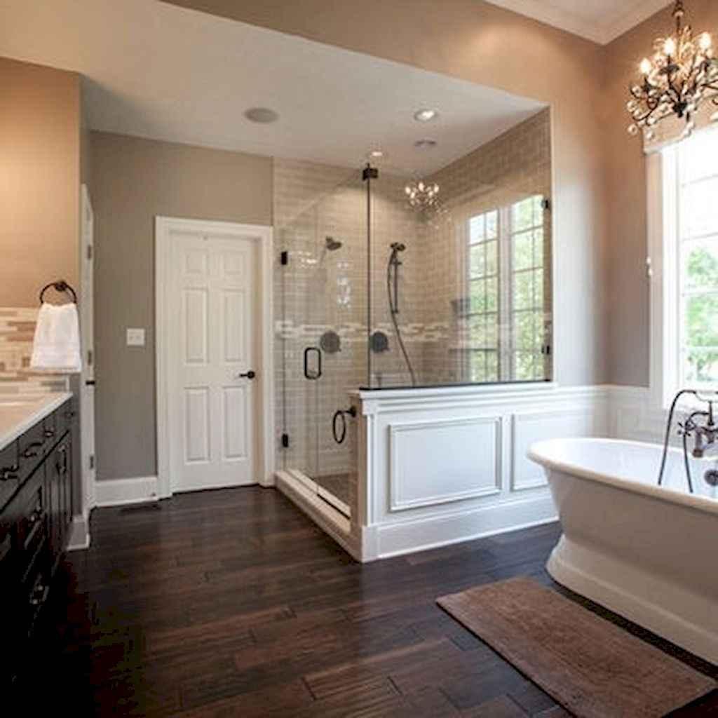 125 awesome farmhouse bathroom vanity remodel ideas (86)