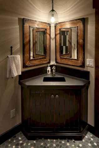 125 awesome farmhouse bathroom vanity remodel ideas (90)
