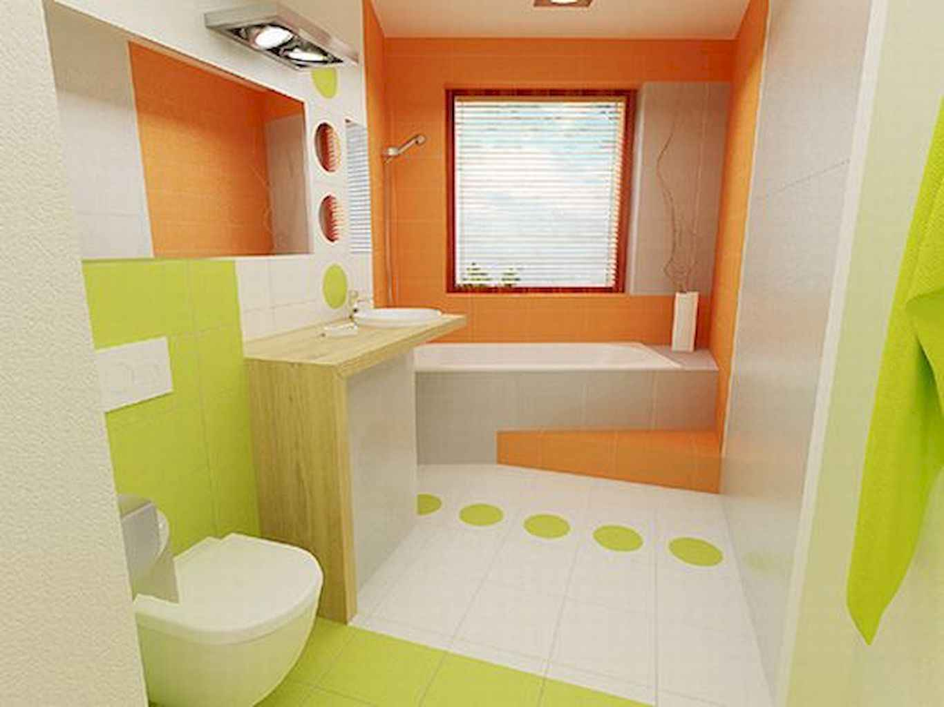 55 cool and relax bathroom design ideas (40)