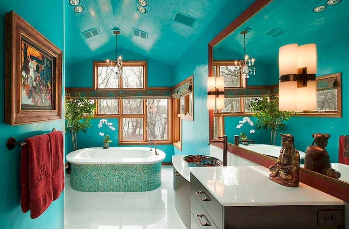 55 cool and relax bathroom design ideas (47)