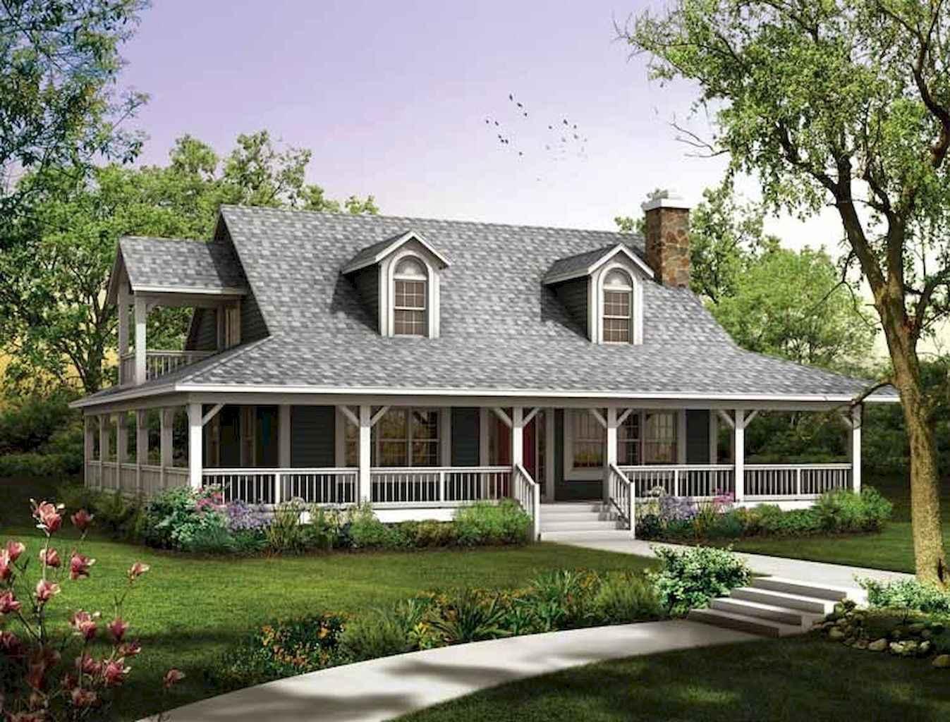 80 awesome plantation homes farmhouse design ideas (45)