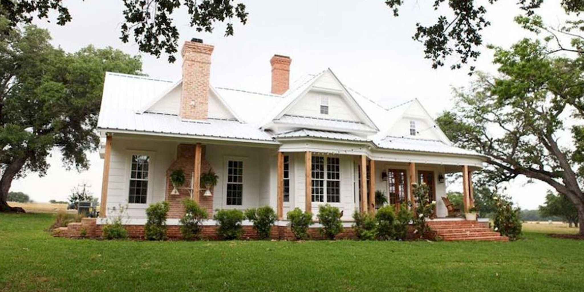 80 awesome plantation homes farmhouse design ideas (48)
