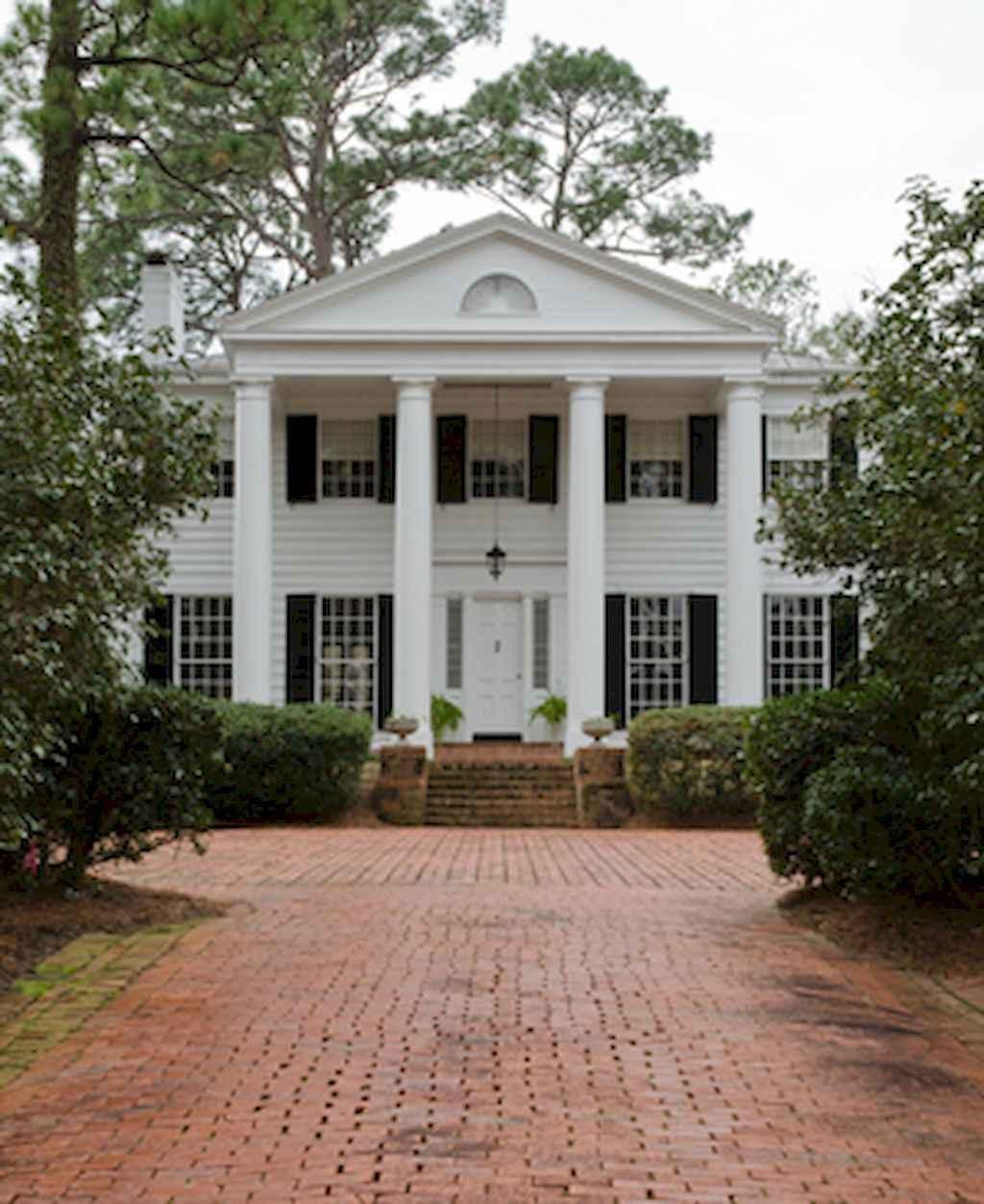 80 Awesome Plantation Homes Farmhouse Design Ideas (49