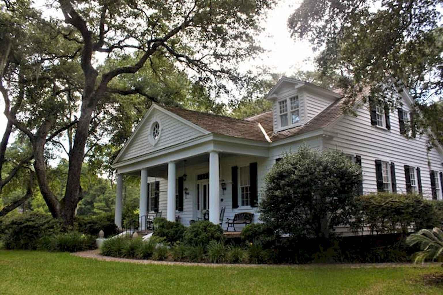 80 awesome plantation homes farmhouse design ideas (66)