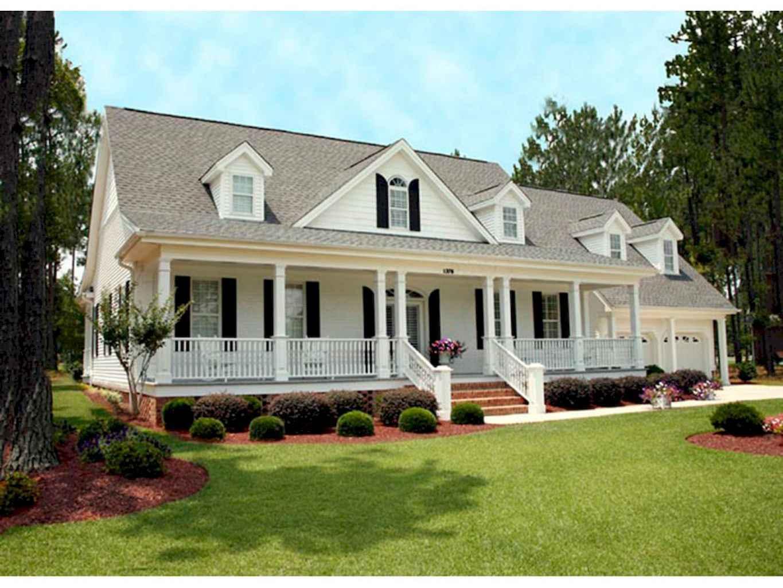 80 awesome plantation homes farmhouse design ideas (73)