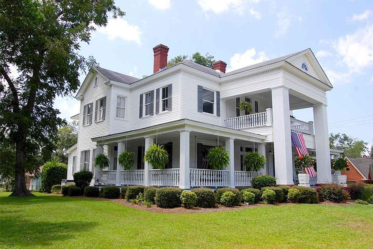 80 awesome victorian farmhouse plans design ideas (12)