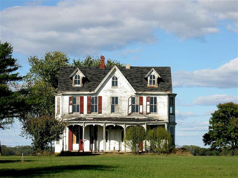 80 awesome victorian farmhouse plans design ideas (30)