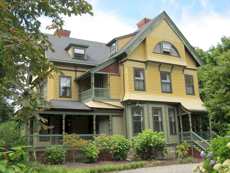 80 awesome victorian farmhouse plans design ideas (34)