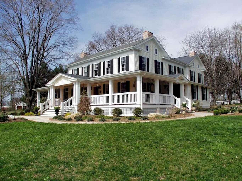 80 awesome victorian farmhouse plans design ideas (40)