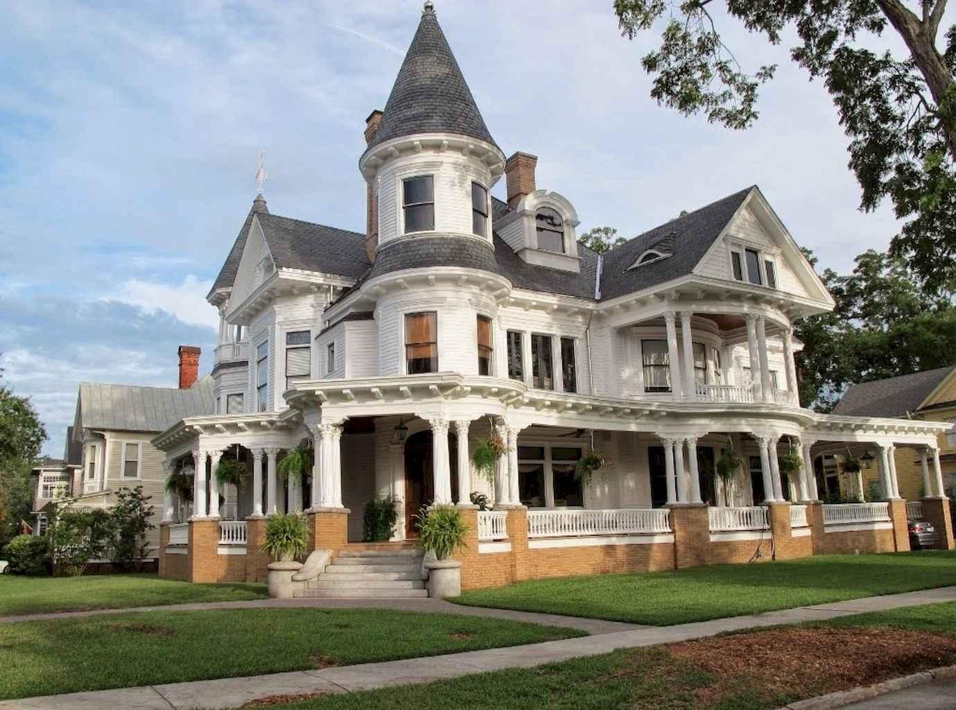 80 awesome victorian farmhouse plans design ideas (56)