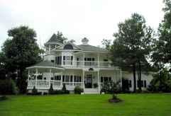 80 awesome victorian farmhouse plans design ideas (61)