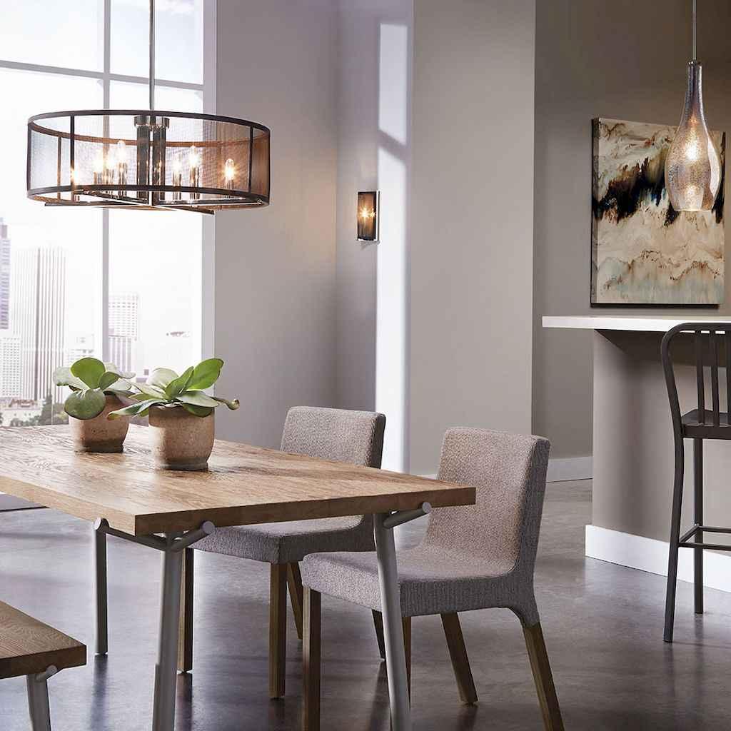 80 brilliant apartment dining room decor ideas (10)