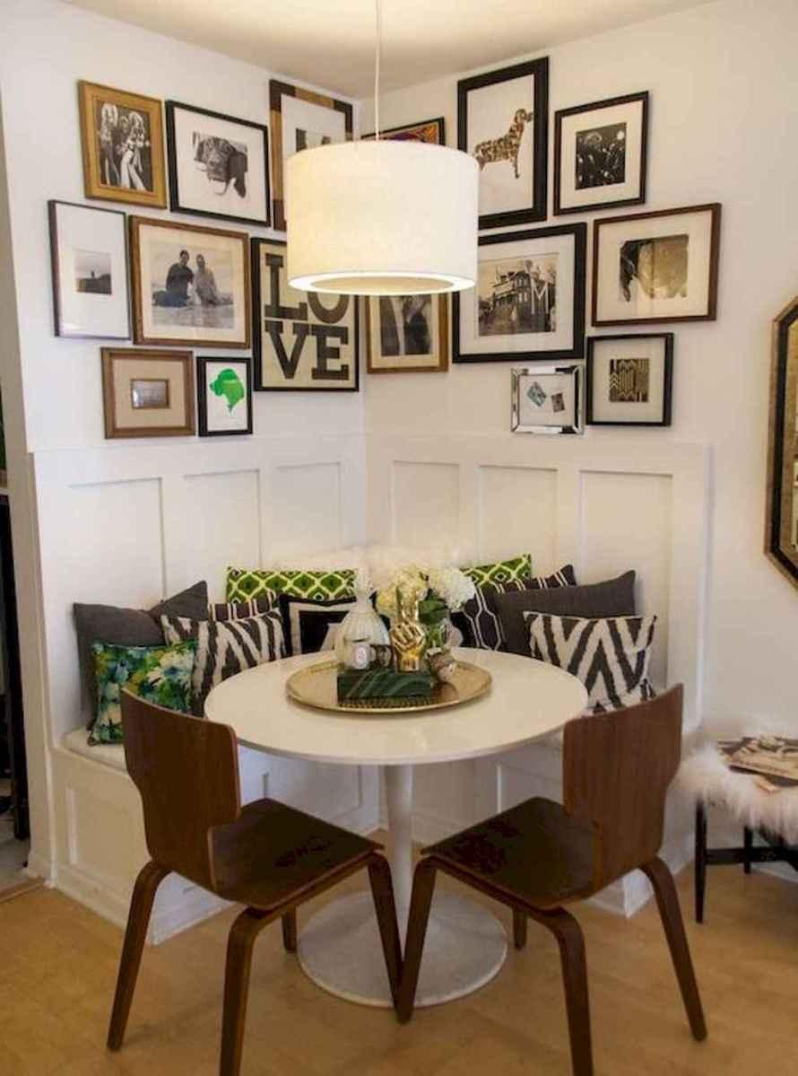 80 brilliant apartment dining room decor ideas (12 ...