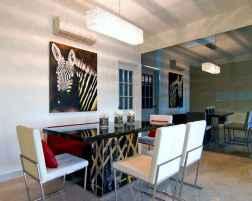 80 brilliant apartment dining room decor ideas (26)