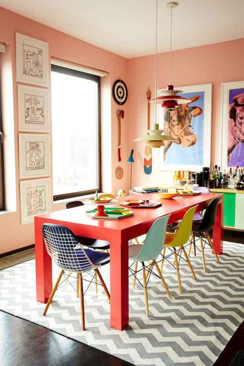 80 brilliant apartment dining room decor ideas (31)