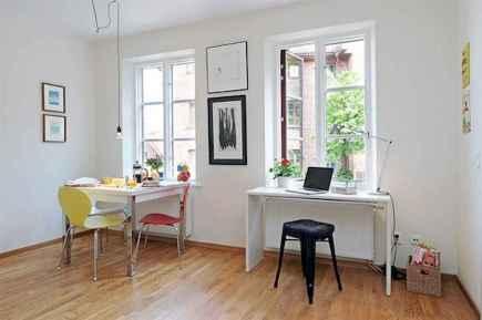 80 brilliant apartment dining room decor ideas (38)