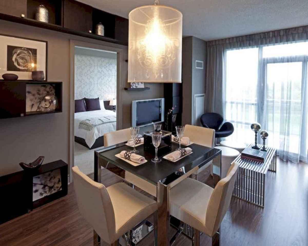 80 brilliant apartment dining room decor ideas (40 ...