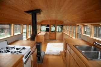 25 brilliant bus rv conversion decor ideas (8)