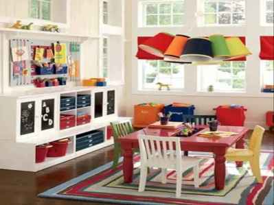 35 amazing playroom ideas for your kids (25)