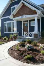 35 handsome black house exterior decor ideas (2)