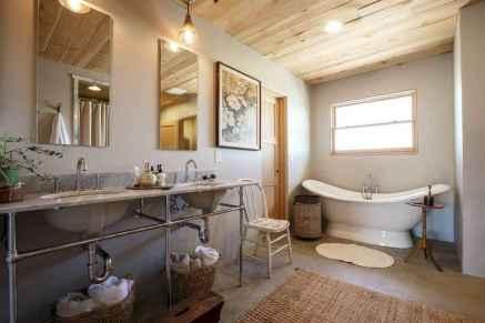 Top 25 farmhouse master bathroom decor ideas (1)
