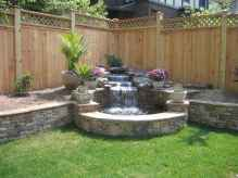 30 beautiful backyard ideas water fountains design and makeover (10)