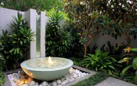 30 beautiful backyard ideas water fountains design and makeover (23)