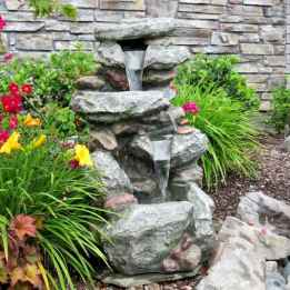 30 beautiful backyard ideas water fountains design and makeover (6)