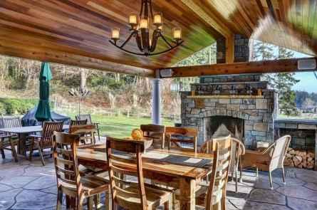 40 rustic backyard design ideas and remodel (36)