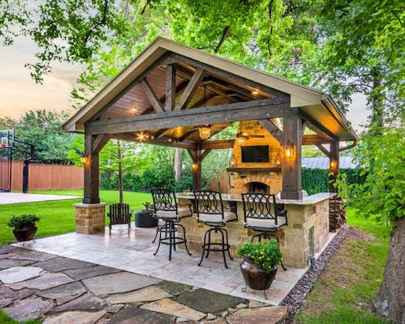 40 rustic backyard design ideas and remodel (5)