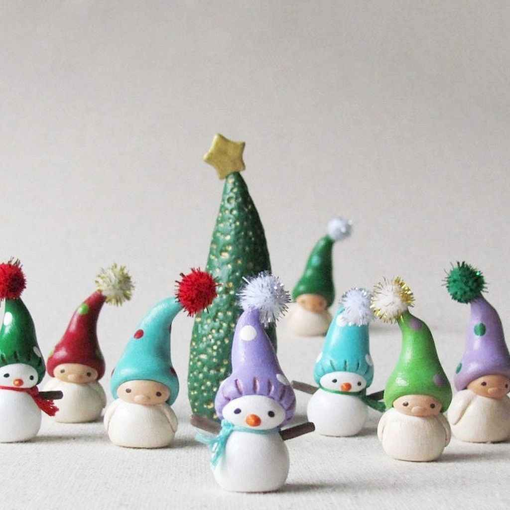 Polymer Clay Christmas Ideas.50 Easy To Try Diy Polymer Clay Christmas Design Ideas 11