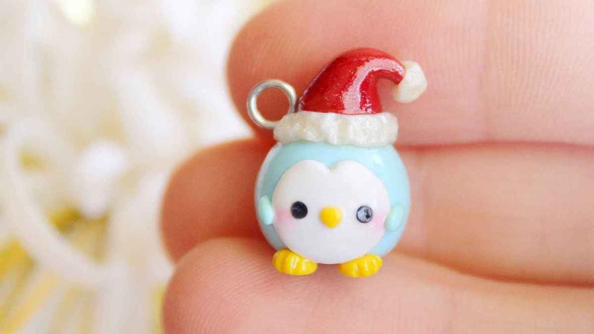 50 easy to try diy polymer clay christmas design ideas (35)
