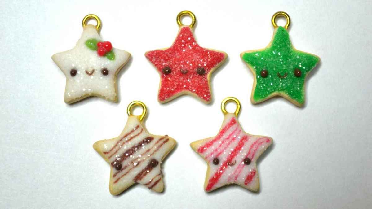 50 easy to try diy polymer clay christmas design ideas (38)