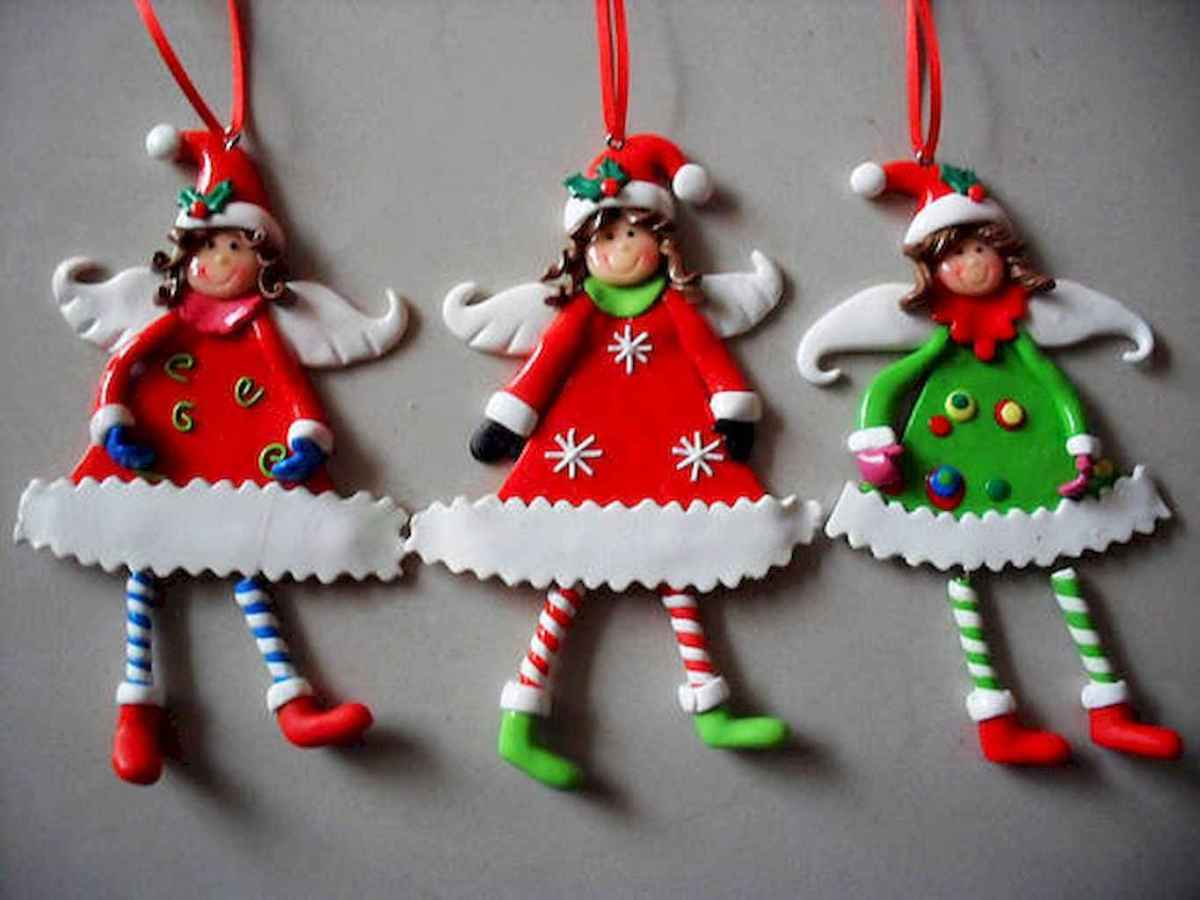 50 easy to try diy polymer clay christmas design ideas (43)