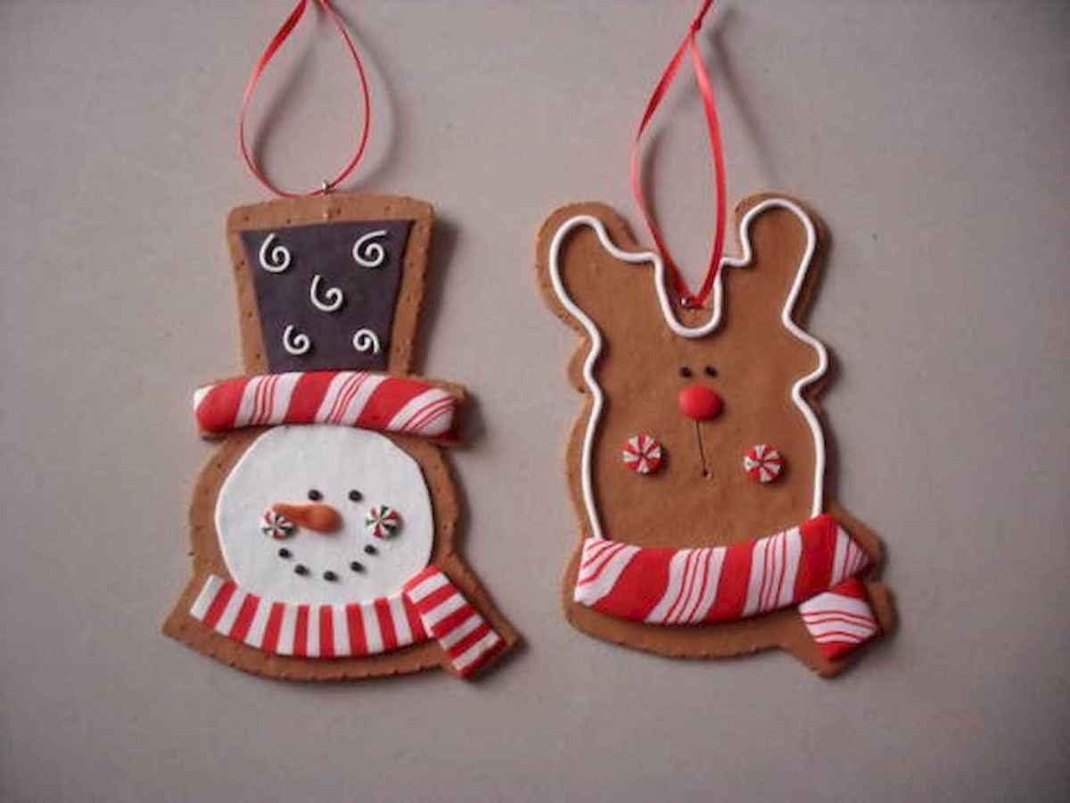 50 easy to try diy polymer clay christmas design ideas (44)
