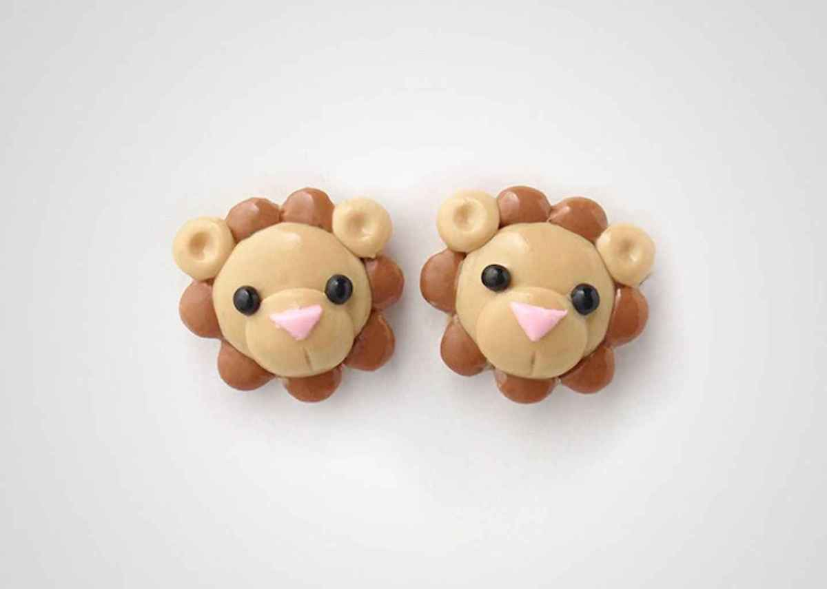 55 easy to try diy polymer clay animals design ideas (15)