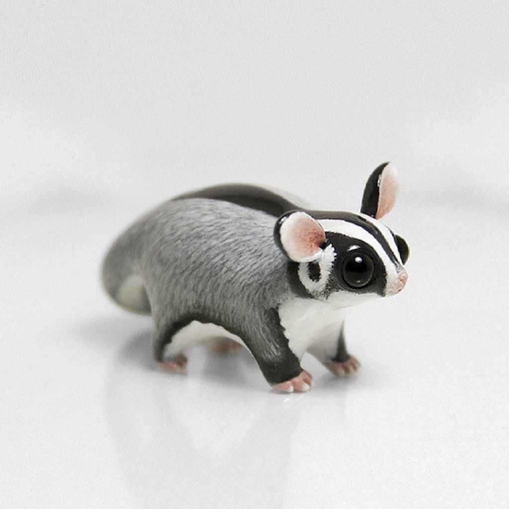 55 easy to try diy polymer clay animals design ideas (22)