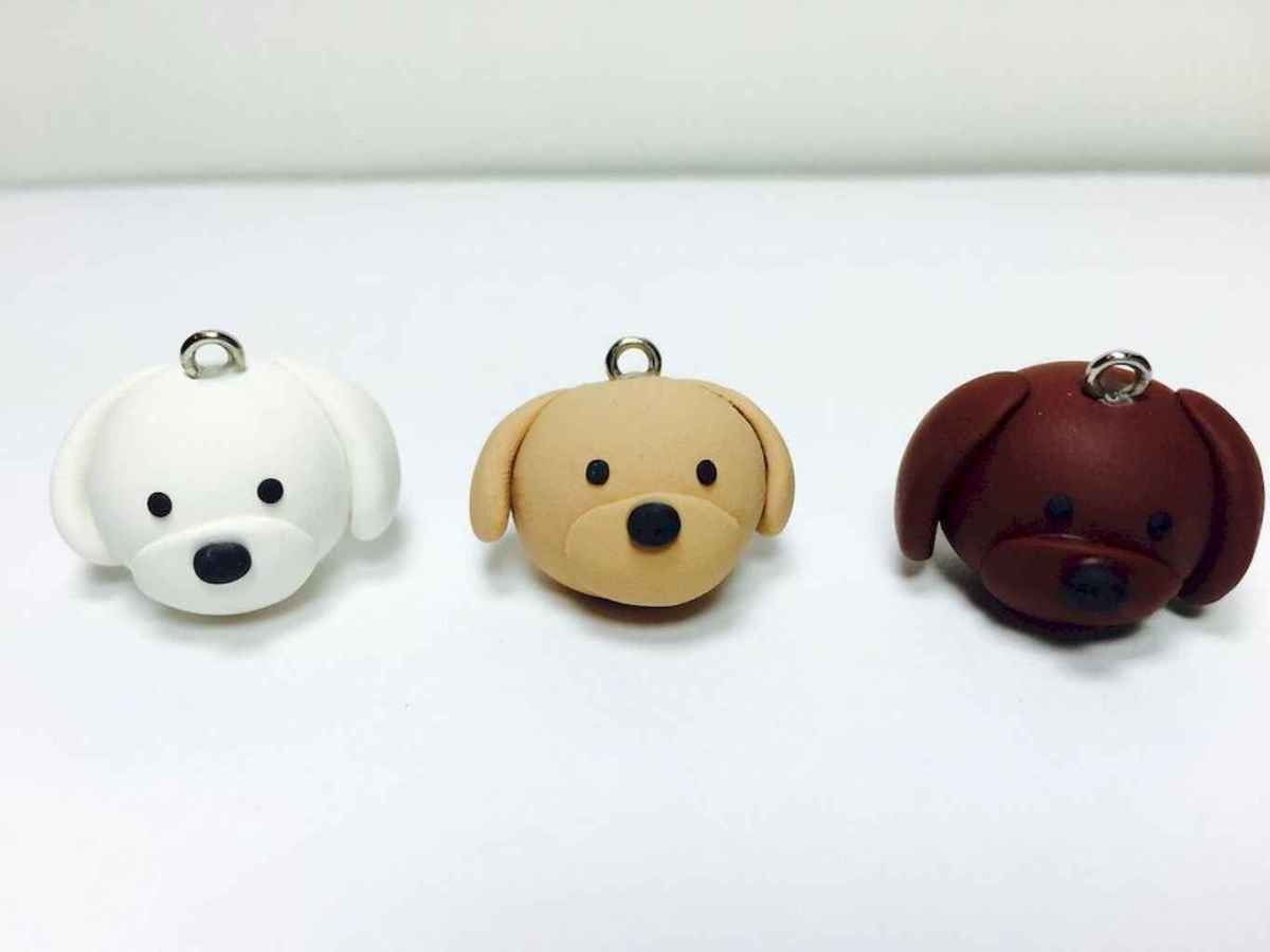 55 easy to try diy polymer clay animals design ideas (30)