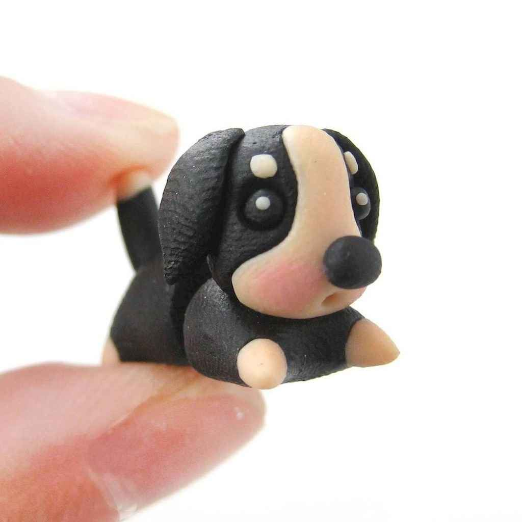 55 easy to try diy polymer clay animals design ideas (40)