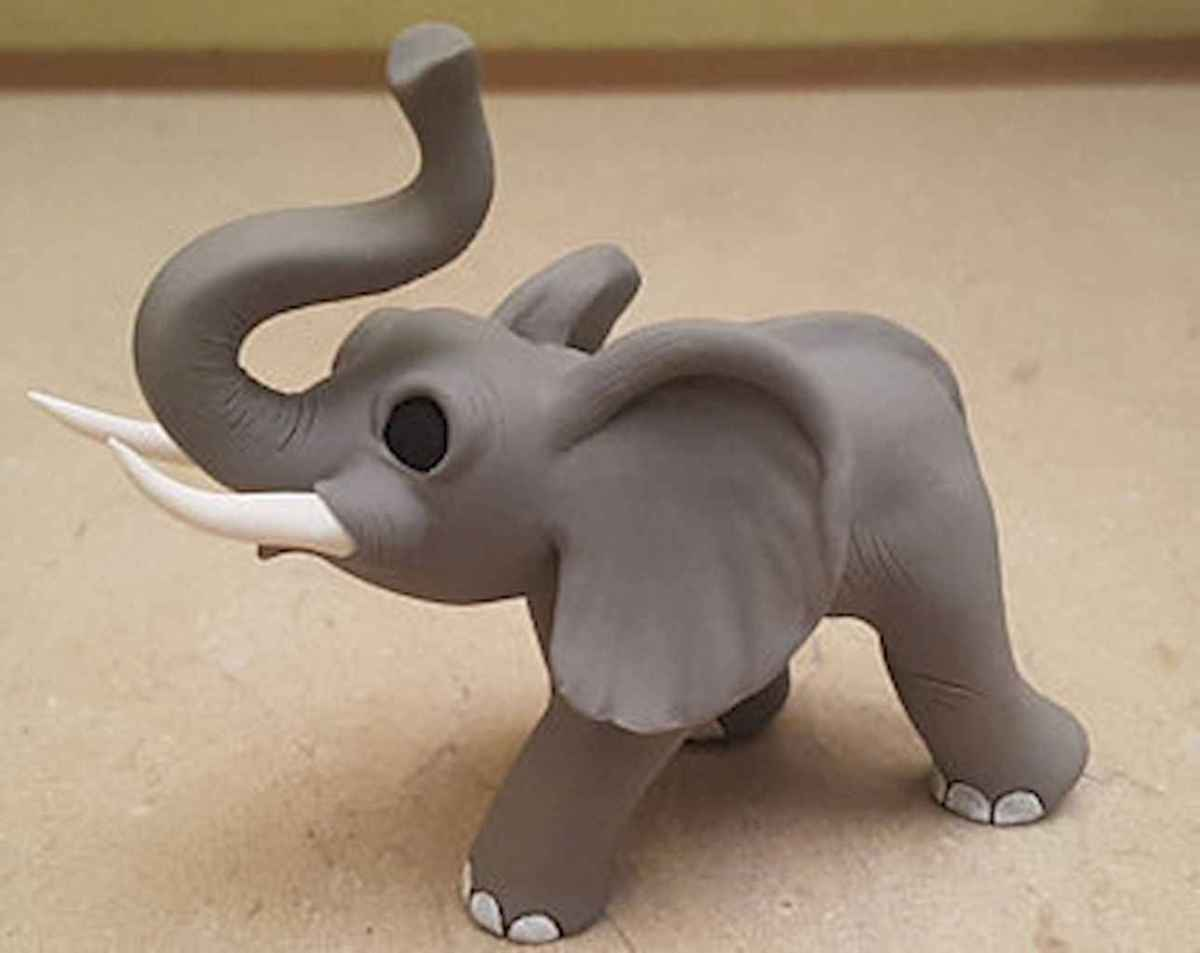 55 easy to try diy polymer clay animals design ideas (41)