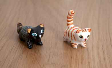 55 easy to try diy polymer clay animals design ideas (46)