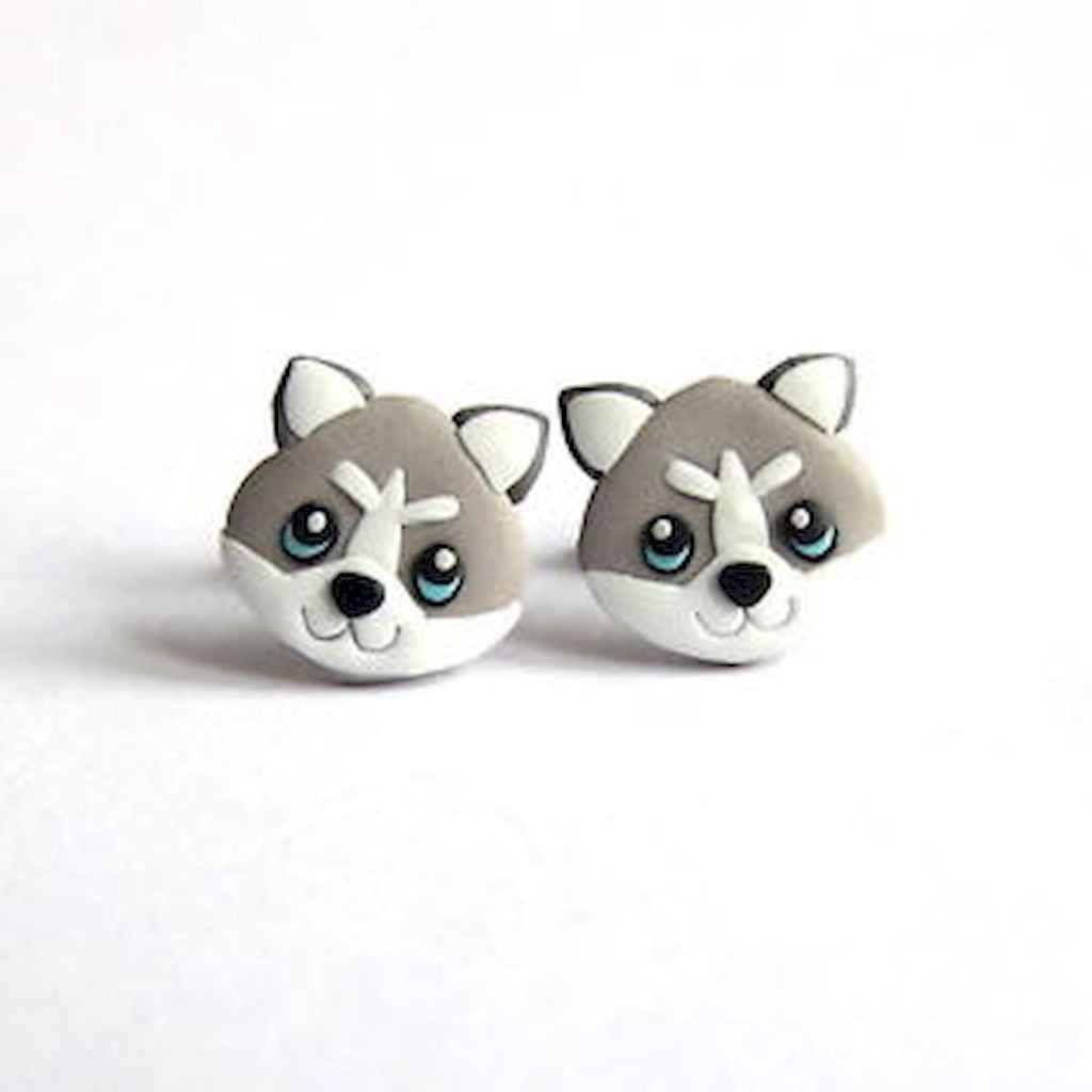 55 easy to try diy polymer clay animals design ideas (53)
