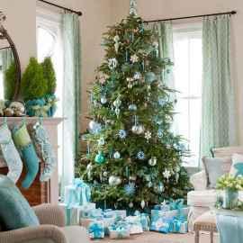 100 beautiful christmas tree decorations ideas (44)