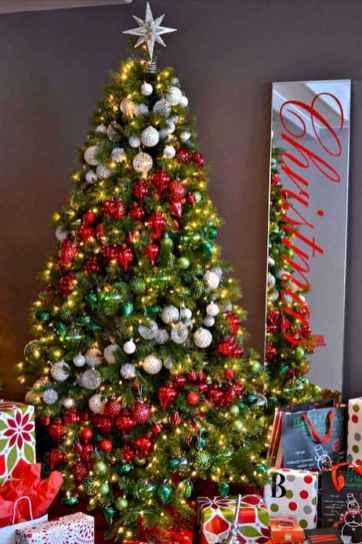 100 beautiful christmas tree decorations ideas (45)